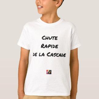 Camiseta QUEDA RÁPIDA da CASCATA - Jogos de palavras