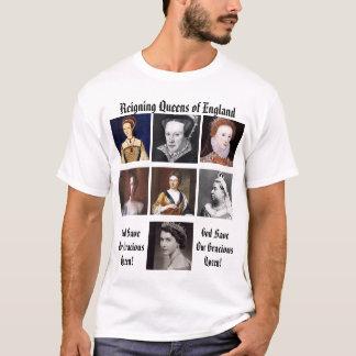 Camiseta Queens de Inglaterra de reino