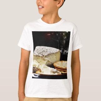 Camiseta Queijo e biscoitos do brie
