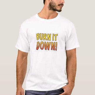 Camiseta Queime-o para baixo