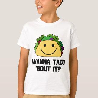 Camiseta Queira-o ao ataque do Taco?