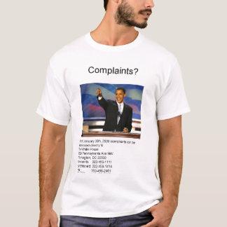 Camiseta Queixas