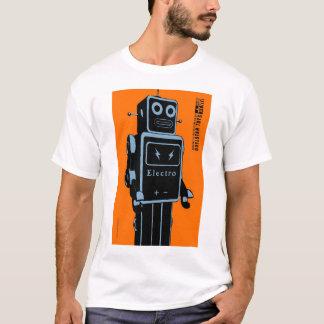 Camiseta Quelstar brinca o robô do brinquedo da lata de