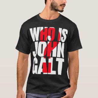 Camiseta Quem é John Galt? com ponto de interrogação