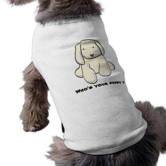 """Camiseta """"Quem é pano do animal de estimação do seu filhote"""