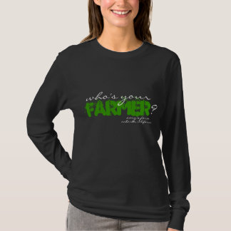 Camiseta Quem é seu fazendeiro? T escuro