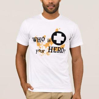 Camiseta Quem é seu herói?