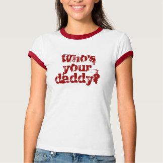 Camiseta Quem é seu pai?