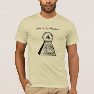 Camiseta Quem é Thy mestre?