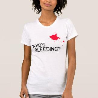 Camiseta Quem está sangrando?