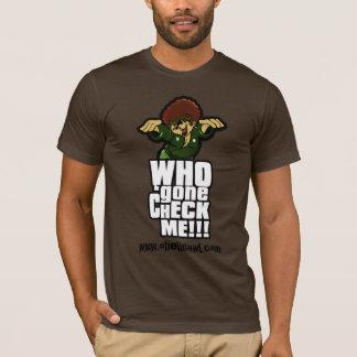 Camiseta Quem ido me verifique! vertical