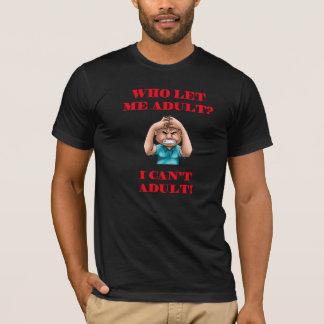 Camiseta Quem me deixou adulto?