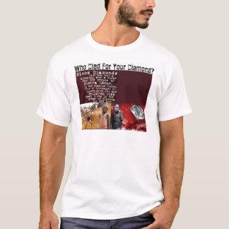 Camiseta Quem morreu para seu diamante?