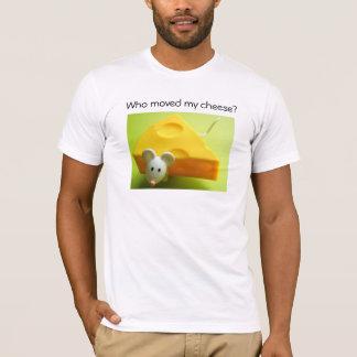 Camiseta Quem moveu meu queijo?