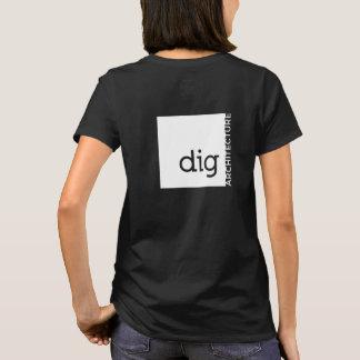 Camiseta Quem não escava a ARQUITETURA