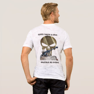 Camiseta - Quem poupa o lobo sacrifica as ovelhas