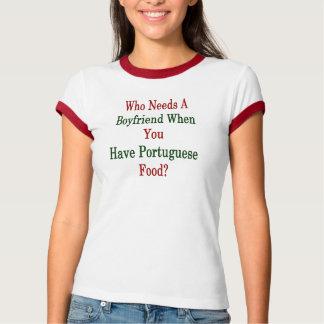 Camiseta Quem precisa um namorado quando você tiver o