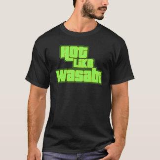 Camiseta Quente como Wasabi