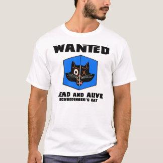Camiseta querida do morto ou do gato dos