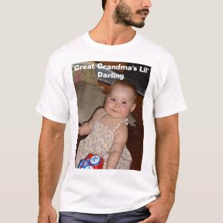 Camiseta Querido do Lil da grande avó