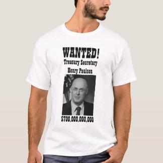 Camiseta QUERIDO! Henry Paulson (ajuda)