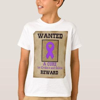 Camiseta Querido: Uma cura para Crohn & colite