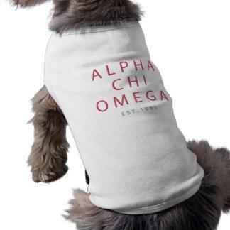 Camiseta Qui alfa Omega | Est. 1885