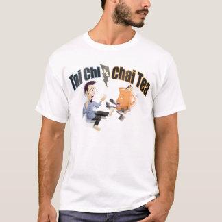 Camiseta Qui da TAI contra o chá de Chai