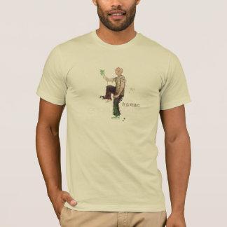 Camiseta Qui da TAI - galo dourado