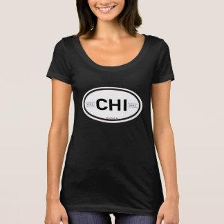 Camiseta QUI de Chicago Euro--Oval