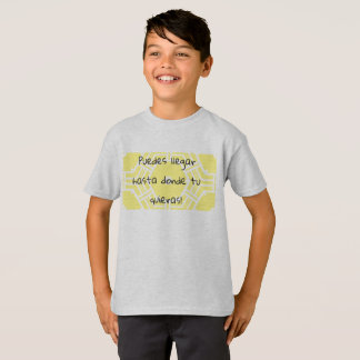 Camiseta quieras llegar da Turquia do donde do hasta dos