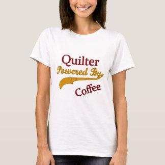 Camiseta Quilter pôr pelo café