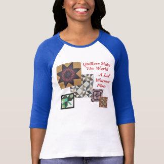 Camiseta Quilters faz o lugar muito mais morno do mundo