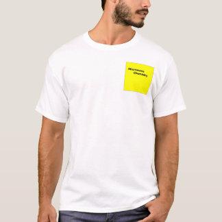 Camiseta química da microonda