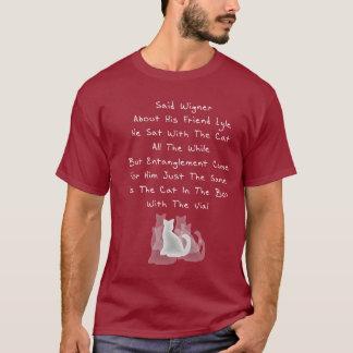 Camiseta Quintilha jocosa do amigo de Wigner