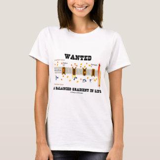 Camiseta Quis um inclinação equilibrado na vida (a bomba do