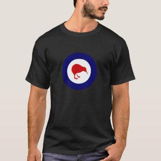 Camiseta quivi do roundel de Nova Zelândia