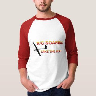 Camiseta R/C que sobem… tomam o calor
