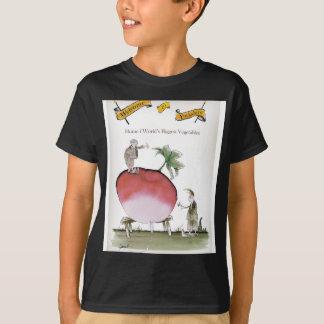 Camiseta Rabanete grande de Yorkshire do amor