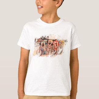 Camiseta Raça de bicicleta