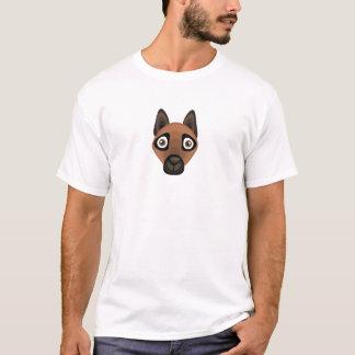 Camiseta Raça de Malinois - meus oásis do cão