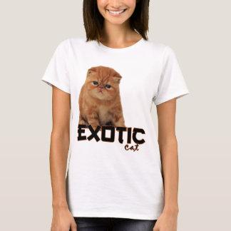Camiseta raças exóticas do gato