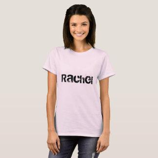 Camiseta Rachel, nome do caráter preto órfão, letra de