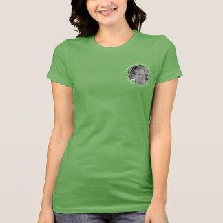 Camiseta Racin para vozes de Capen contra o cancro cerebral