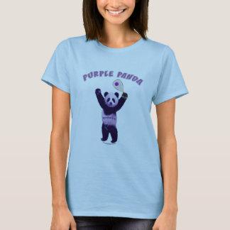 Camiseta Racquetball roxo da panda