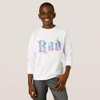 Camiseta RAD inglês na aguarela
