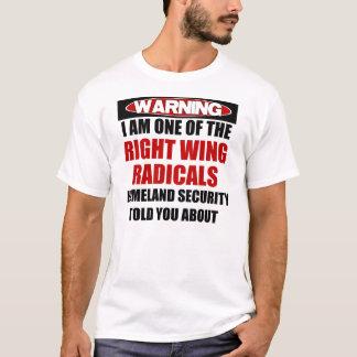 Camiseta Radical do direita