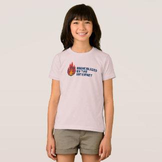 Camiseta Radicalizado pelo Internet (para miúdos!)