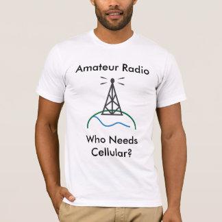 Camiseta Rádio amador - quem precisa celular