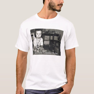 Camiseta Rádio, regra dos geeks de Techno